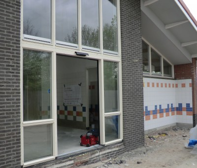 Molecaten park Rondeweibos – Winkel en sanitair gebouw